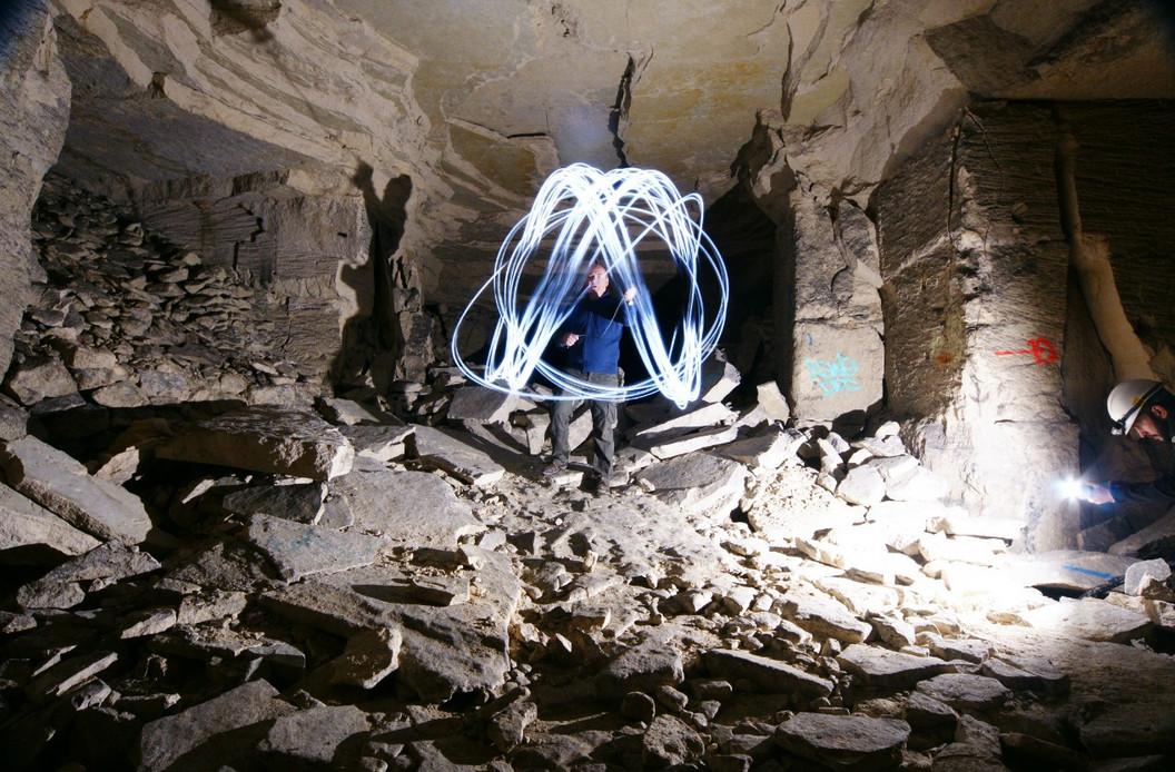 Underground Lightpainting
