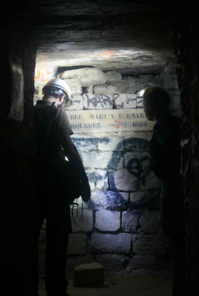 Another night underground