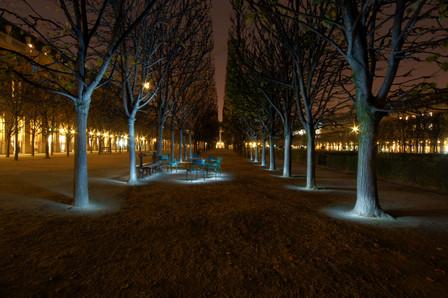 Attempted Light Painting at Palais Royal