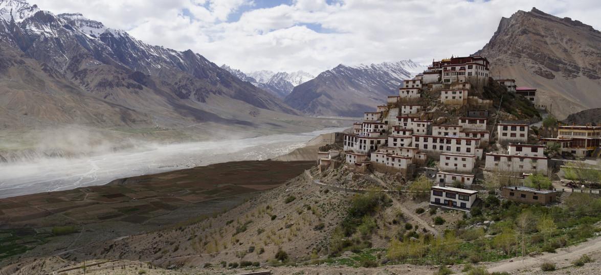 India…Ki Monastery