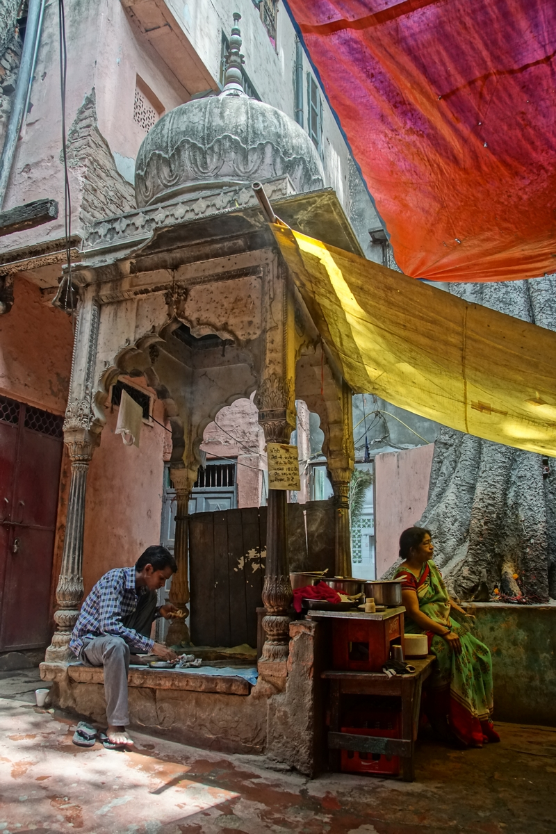 Delhi's Chandni Chowk and Red Fort