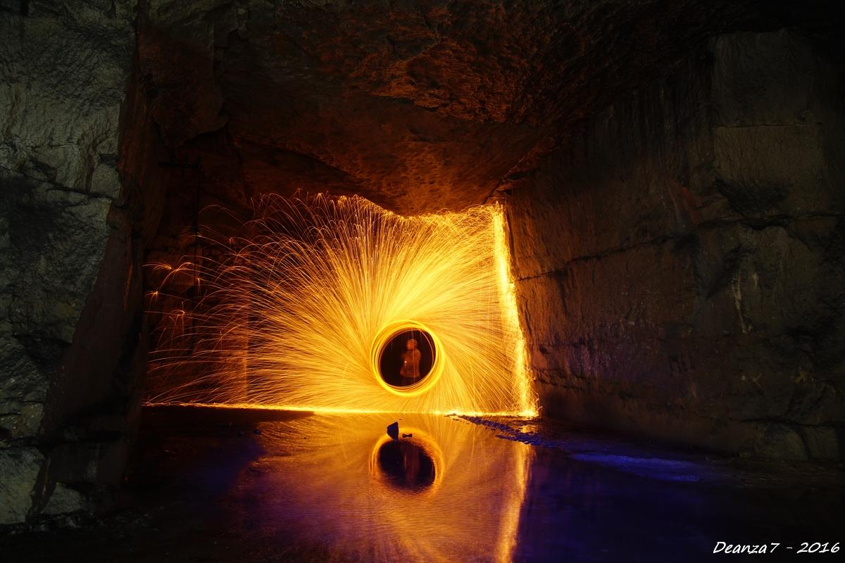 Light & Firepainting dans l'Oise